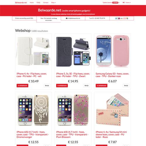 Belwaarde.net - Webshop