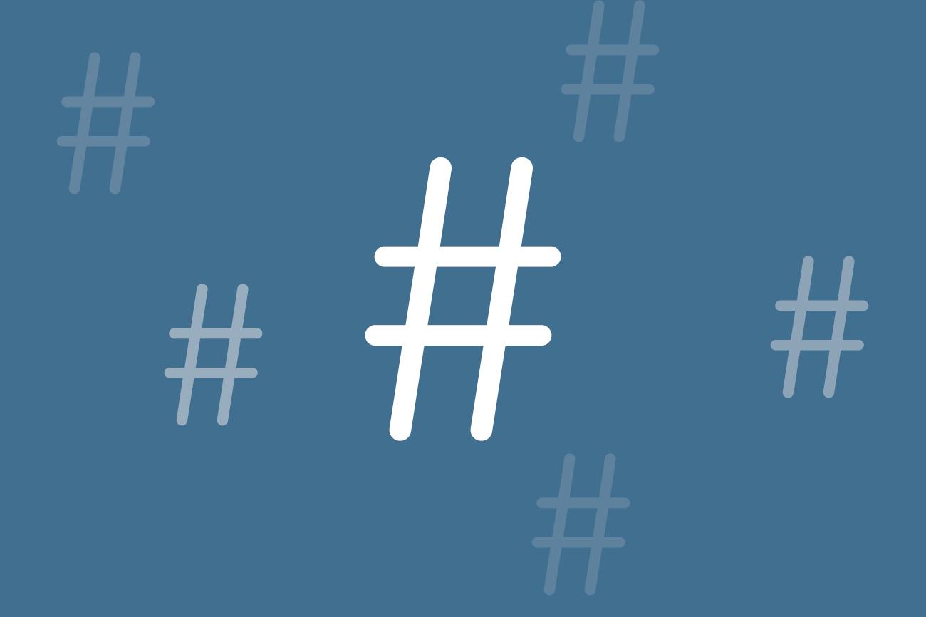 Hashtag, hoe gebruik je een hashtag