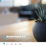 WordPress 4.7 Customizer
