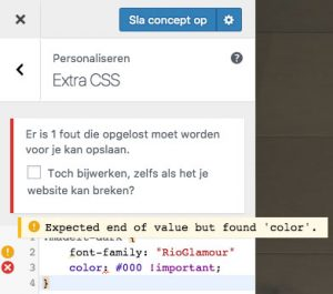 custom css syntax highlighting