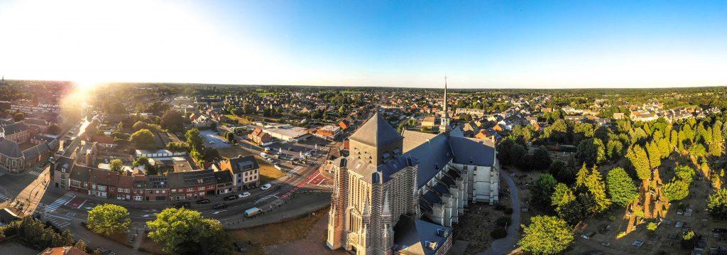 Drone fotografie Oud-Turnhout