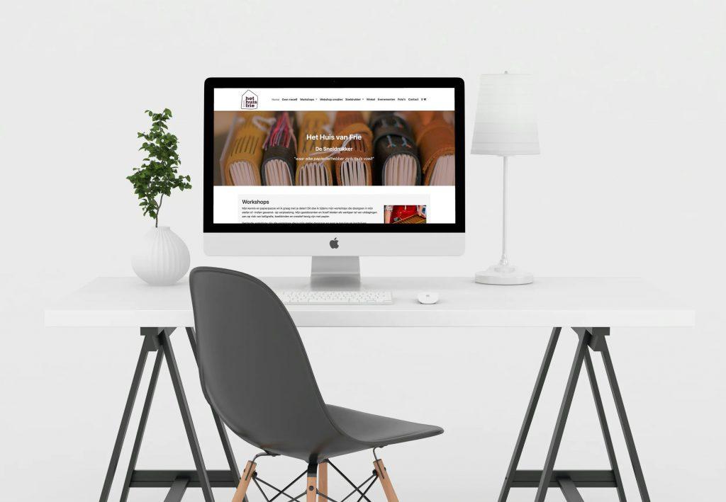 Website huisvanfrie.be ontwikkeld door Made I.T.