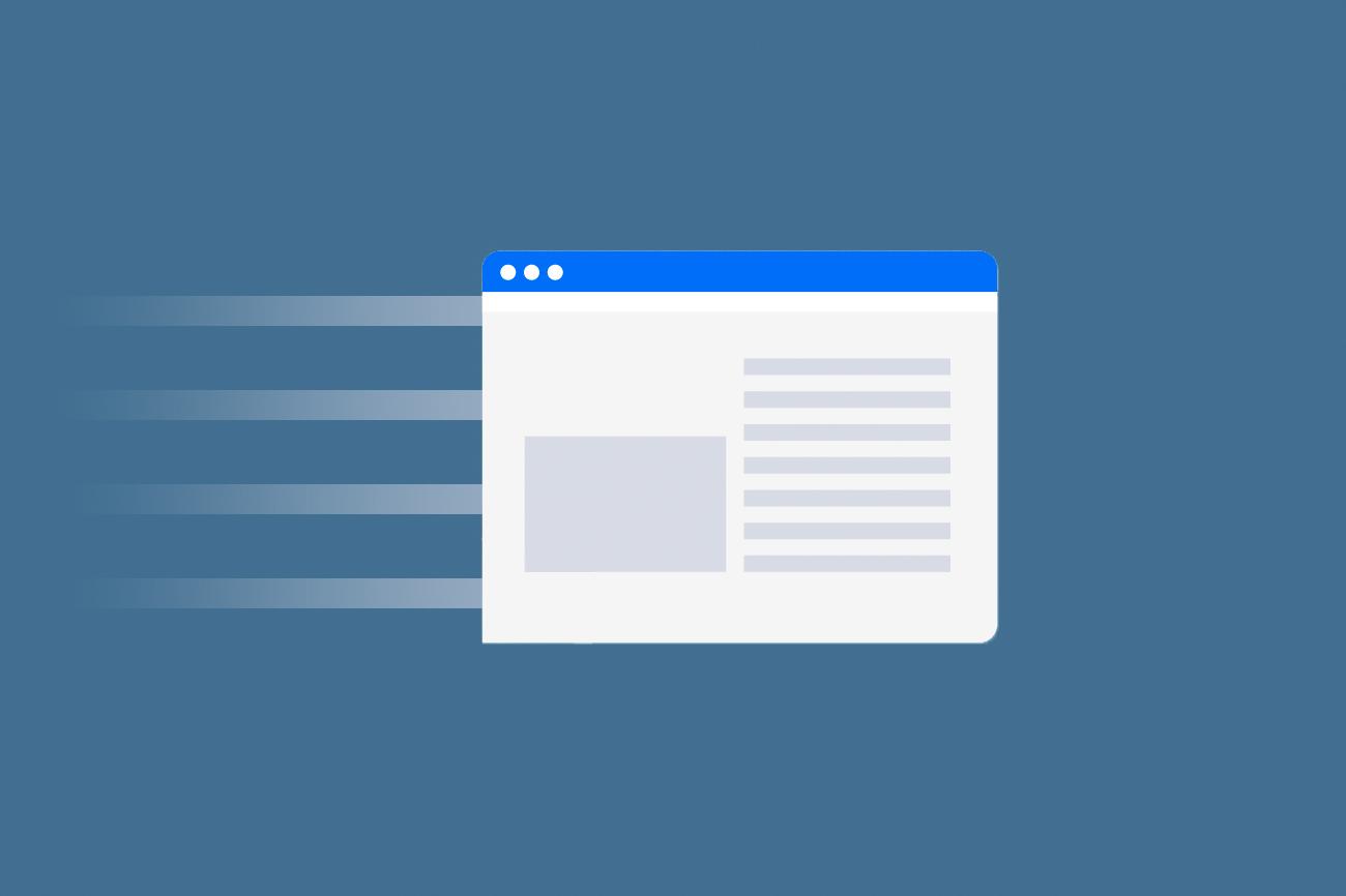 Snelheid Website