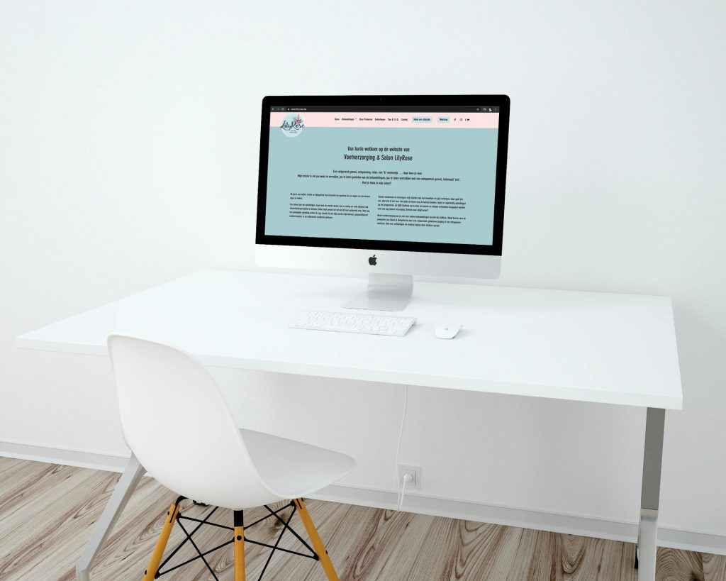 Website Salon Lilyrose